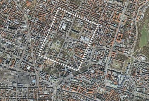 Maxvorstadt Aerial View